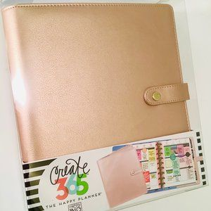 The Happy Planner Cover, Rose Gold, Classic Size